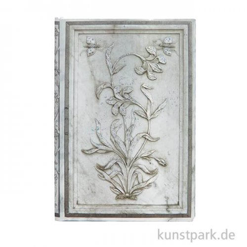 PAPERBLANKS Notizbuch - Blumen des Taj Mahal - Lahori, Blanko