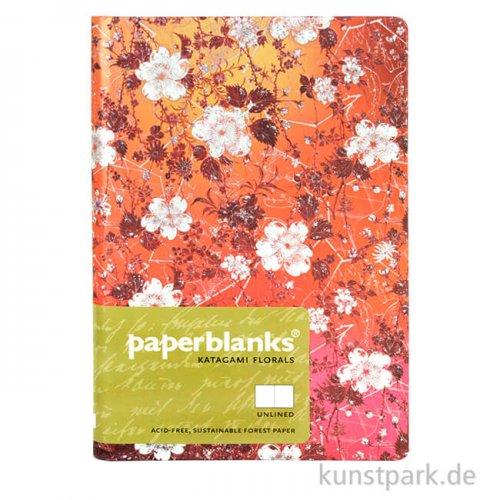 PAPERBLANKS Notizbuch - Blumenmuster Sakura - Blanko