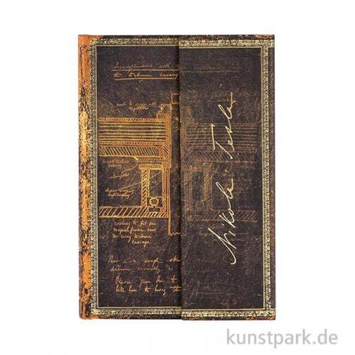 PAPERBLANKS Notizbuch - Faszinierende Handschriften - Tesla - Blanko