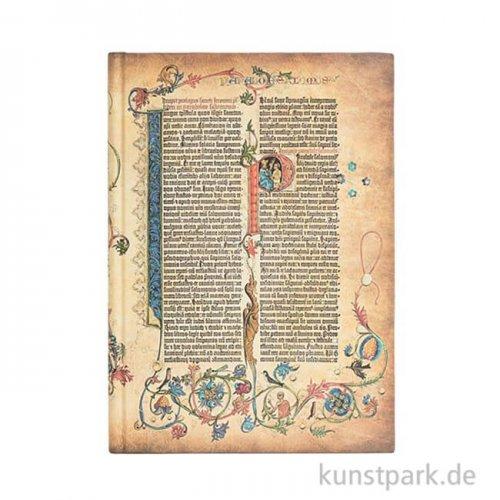 PAPERBLANKS Notizbuch - Gutenberg-Bibel - Parabola - Blanko 210 x 300 mm - 120 g