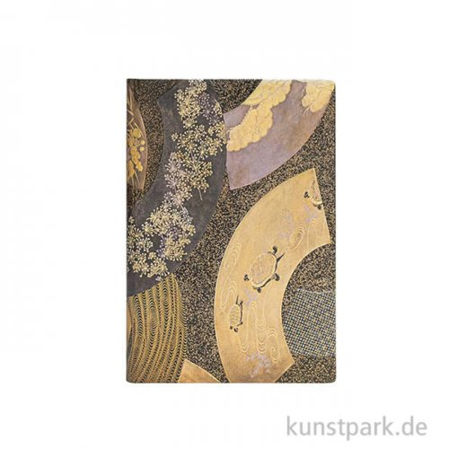 PAPERBLANKS Notizbuch - Japanische Lackkästen - Ougi - Blanko 95 x 140 mm - 85 g