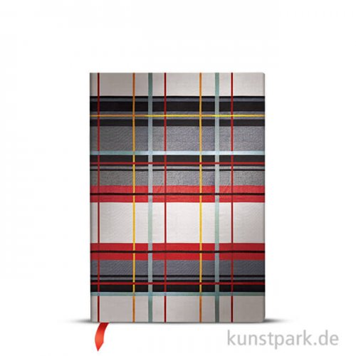 PAPERBLANKS Notizbuch - Kariert Verziert - Kensington, 13 x 18 cm, Blanko