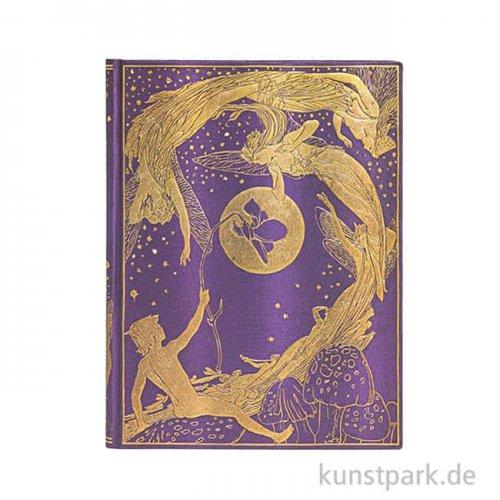 PAPERBLANKS Notizbuch - Märchen, Folklore - Violet Fairy - Blanko