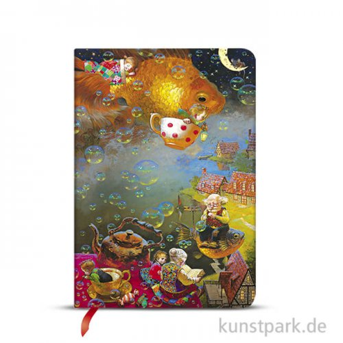 PAPERBLANKS Notizbuch - Wunder & Fantasie - Fantasie, 12 x 17 cm, Blanko