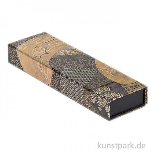 PAPERBLANKS Stifteetui - Japanische Lackkästen - Ougi, 220 x 30 mm