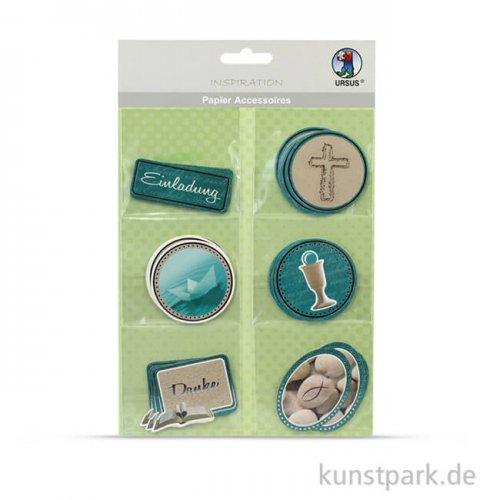 Papier Accessoires Prayer, 6 verschiedene Designs