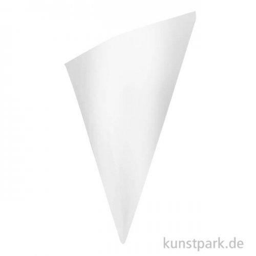 Papiertüten weiß spitz, 170 mm, 20 Stück