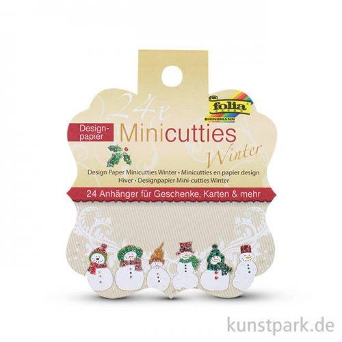 Papieranhänger Mini-Cutties - Winter