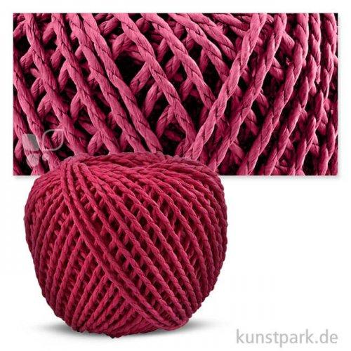 Papiergarn 2,5-3 mm, 150g Einzelfarbe   Pink