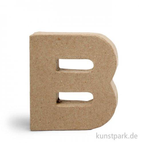 Pappmaché-Buchstaben - handgearbeitet 10 cm Einzeln | B