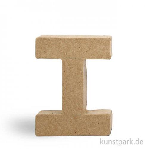 Pappmaché-Buchstaben - handgearbeitet 10 cm Einzeln | I