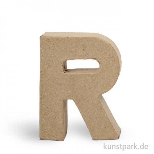 Pappmaché-Buchstaben - handgearbeitet 10 cm Einzeln | R