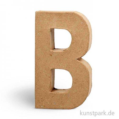 Pappmaché-Buchstaben - handgearbeitet 20,5 cm 20,5 cm | B