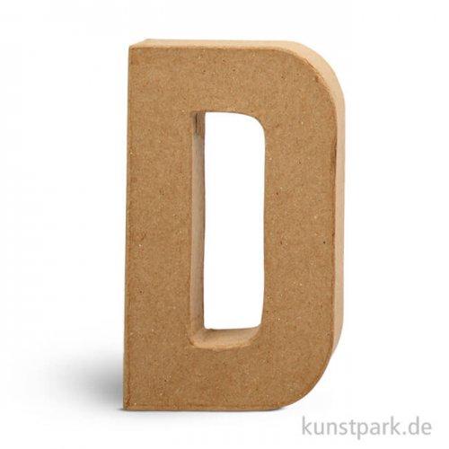 Pappmaché-Buchstaben - handgearbeitet 20,5 cm 20,5 cm | D