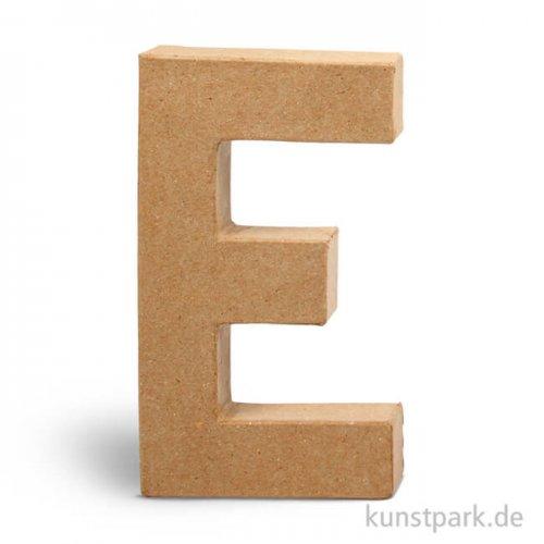 Pappmaché-Buchstaben - handgearbeitet 20,5 cm 20,5 cm | E