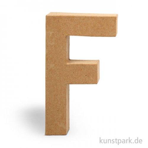 Pappmaché-Buchstaben - handgearbeitet 20,5 cm 20,5 cm | F