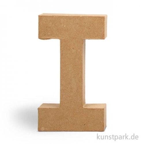 Pappmaché-Buchstaben - handgearbeitet 20,5 cm 20,5 cm | I