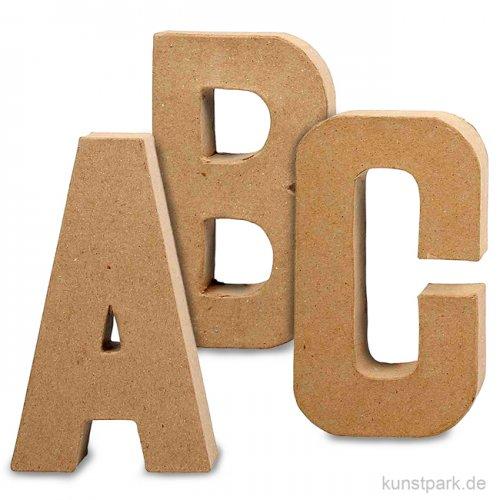 Pappmaché-Buchstaben - handgearbeitet 20,5 cm