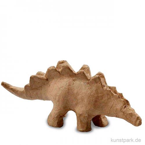 Pappmaché - Dinosaurier, handgemacht, Größe 10,5x22x5,5 cm
