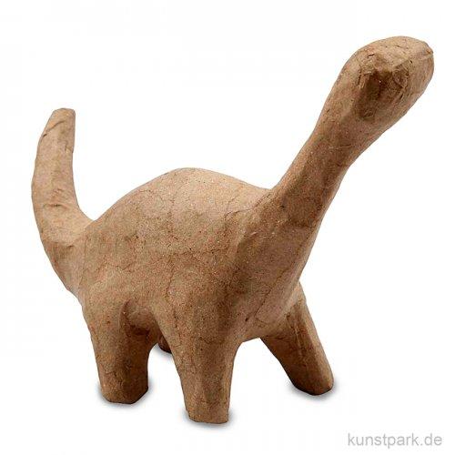 Pappmaché - Dinosaurier, handgemacht, Größe 12x16x5,5 cm