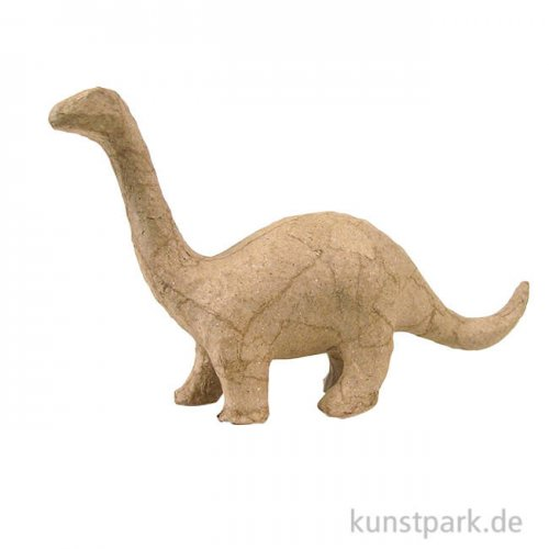Pappmaché - Mini Brontosaurus