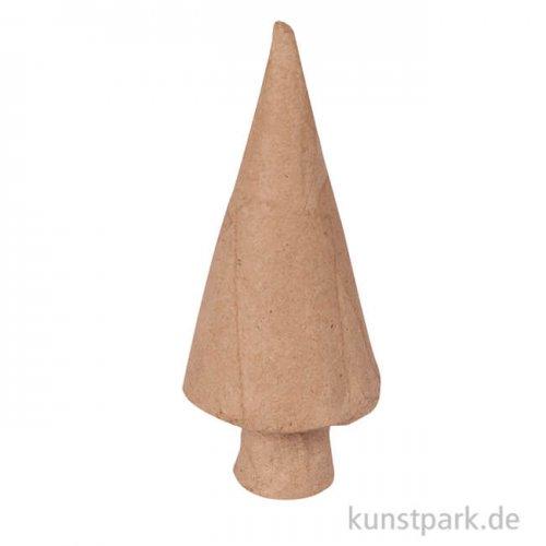 Pappmaché - Tannenbaum geometrisch