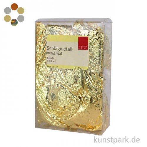 Passione Schlagmetall-Blätter Schabin