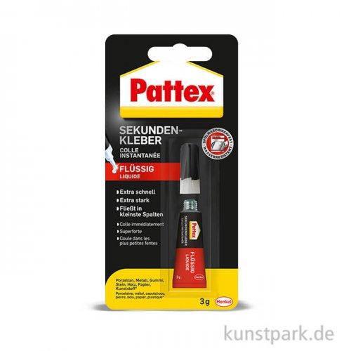 PATTEX Sekundenkleber Flüssig, 3g