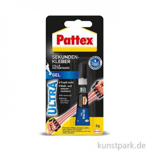 PATTEX Sekundenkleber Ultra Gel, 3g
