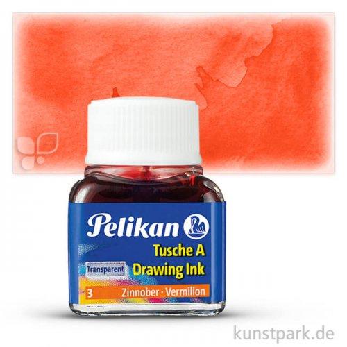 Pelikan Tusche A 10 ml | Zinnober