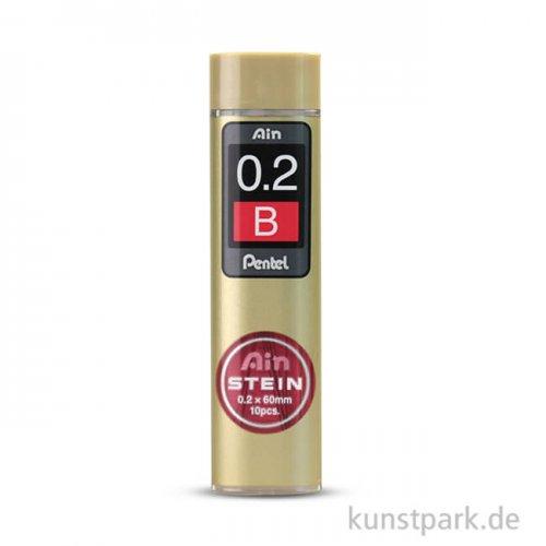PENTEL AinStein Refill Mine 0,2mm B - 20 Stück