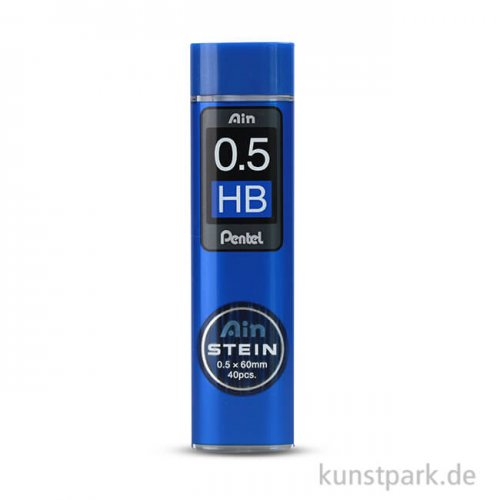 PENTEL AinStein Refill Mine 0,5mm HB - 40 Stück