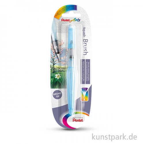 PENTEL Aquash Brush Wassertankpinsel Rund Breit - 7 ml