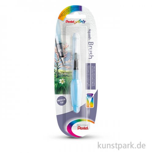 PENTEL Aquash Brush Wassertankpinsel Rund Mittel Kurz - 5 ml