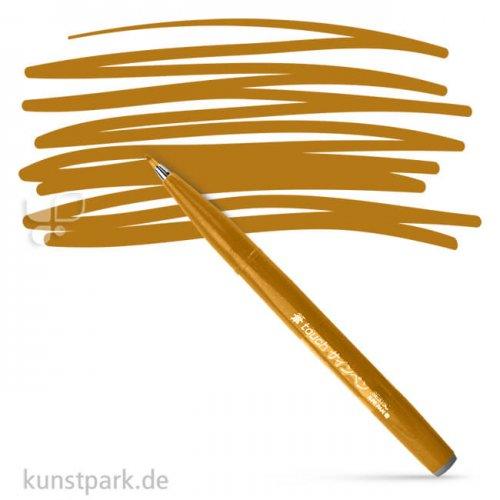 PENTEL Arts Brush Sign Pen Einzelstift | Ocker