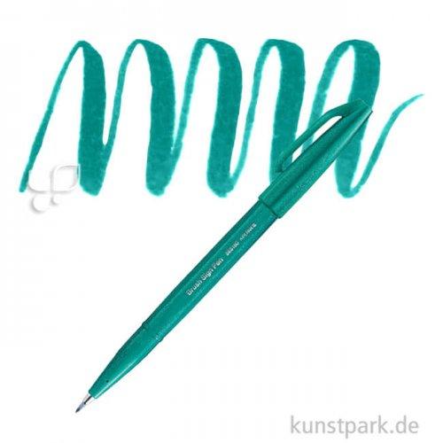 PENTEL Arts Brush Sign Pen - Pastell Einzelstift | Türkis