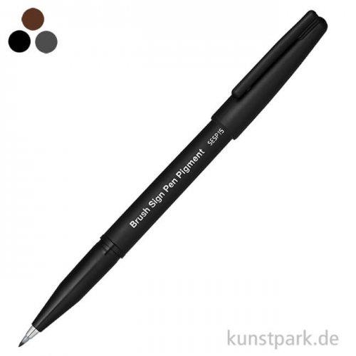 PENTEL Arts Brush Sign Pen - Pigment