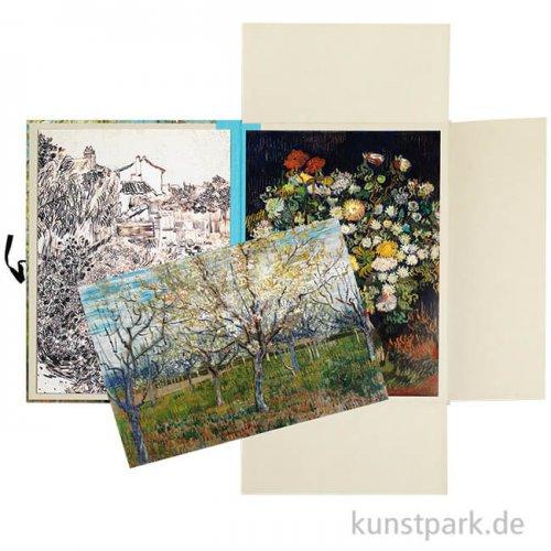 PEPIN Art Portfolios - Vincent Van Gogh, 8 Stück