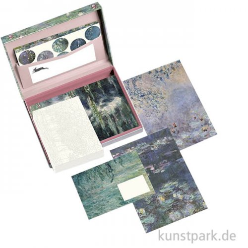 PEPIN Briefpapier Set - Claude Monet
