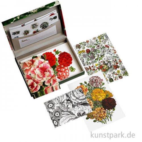PEPIN Briefpapier Set - Flower Prints