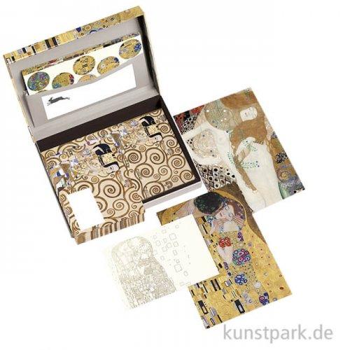 PEPIN Briefpapier Set - Gustav Klimt