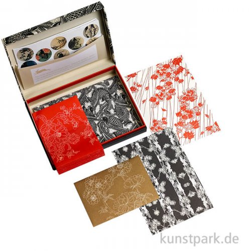 PEPIN Briefpapier Set - Japan Style
