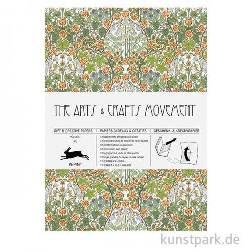 PEPIN Kreativpapier Buch - Arts & Crafts Movement