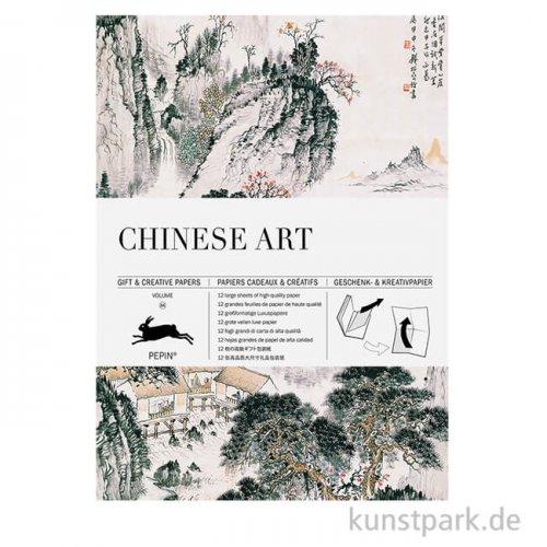 PEPIN Kreativpapier Buch - Chinese Art