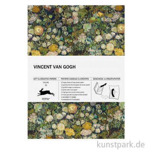 PEPIN Kreativpapier Buch - Vincent Van Gogh