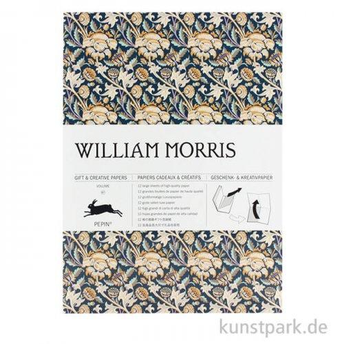 PEPIN Kreativpapier Buch - William Morris