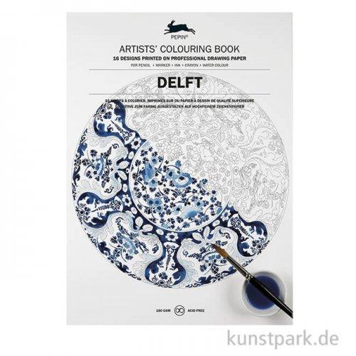 PEPIN Künstler Malbuch - Delft