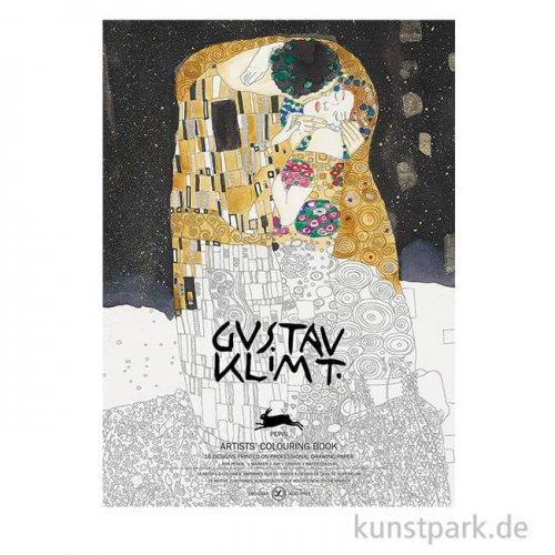 PEPIN Künstler Malbuch - Gustav Klimt
