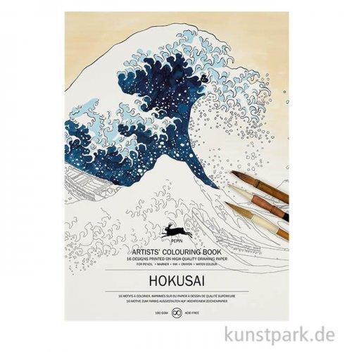 PEPIN Künstler Malbuch - Hokusai