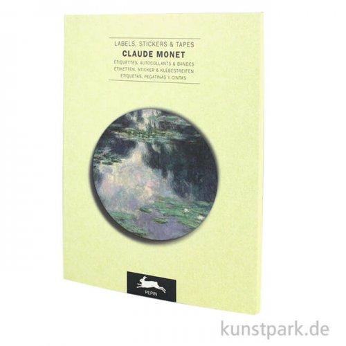 PEPIN Labels, Sticker und Tapes - Claude Monet